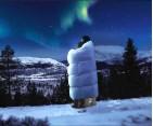 Edredon nordico de plumón Noruego Aurora 3