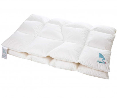 "Norwegian down duvet ""Aurora"" - FP 750 - with organic cotton"