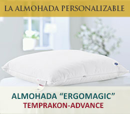 almohada ergomagic temprakon advance