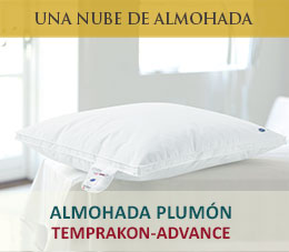 almohada plumon temprakon advance