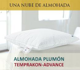 almohada plumon temprakon advance