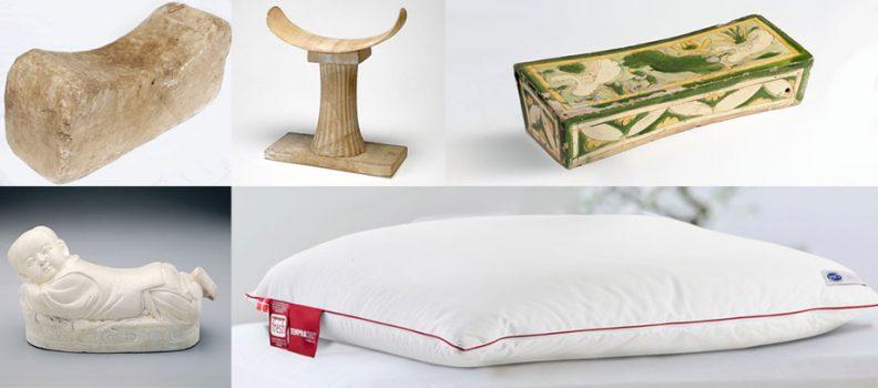 Historia de las almohadas. De la almohada de madera a la almohada viscoelástica