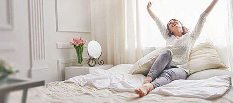 ¿Cómo tener todo el tiempo la temperatura ideal para dormir en tu cuarto?