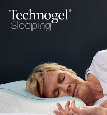 Technogel mature lady sleeping