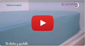sabana natural impermeable bebe bsensible video