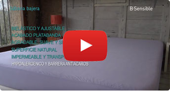 sabana natural impermeable bsensible video